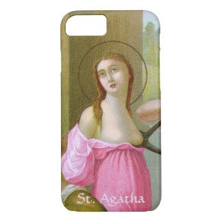 ピンクSt. Agatha (M 003)やっとそこに iPhone 8/7ケース