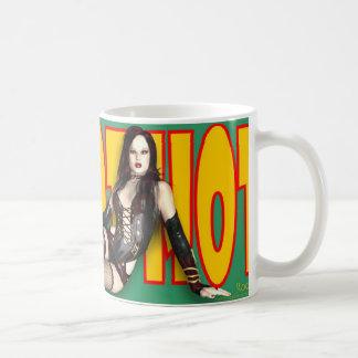 ピンナップのマグ- ~のWitchyの熱く熱く熱いヤナギ コーヒーマグカップ