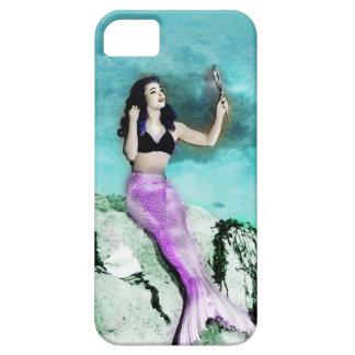 ピンナップの人魚の電話箱 iPhone SE/5/5s ケース