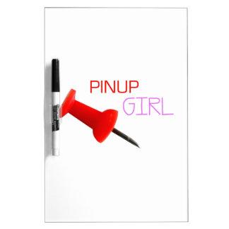 ピンナップの女の子 ドライイレースボード