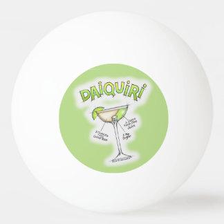 ピンポン球-ダイキリのレシピのカクテルの芸術 卓球ボール