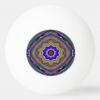 ピンポン球-多彩の幾何学的な抽象芸術 卓球ボール