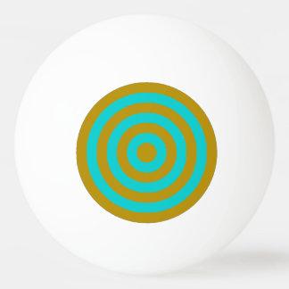 ピンポン球-金ゴールドおよびターコイズの側近グループ 卓球ボール