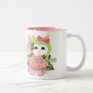 ピーカブーI愛 ツートーンマグカップ