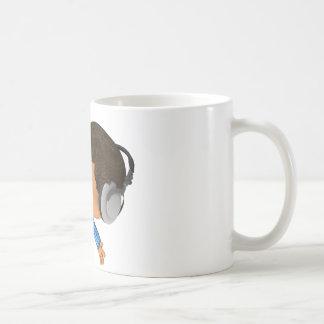 ピーカーブ式サッカーのアフロ型 コーヒーマグカップ