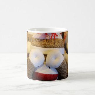 ピーカーブ式ソックス猿 コーヒーマグカップ