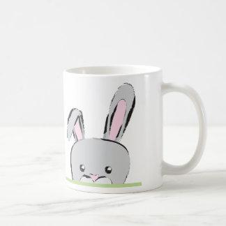 ピーカーブ式バニー コーヒーマグカップ
