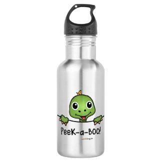 ピーカーブ式ペット(おもしろい、幸せ、かわいいカメ) ウォーターボトル