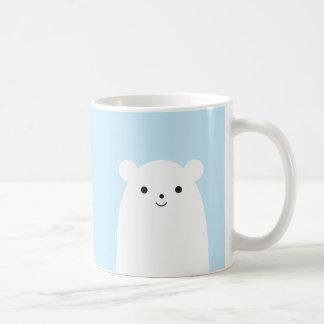 ピーカーブ式白くまのコーヒー・マグ コーヒーマグカップ