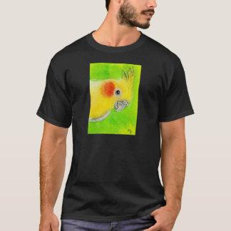 ピーカーブ式Cockatiel Tシャツ