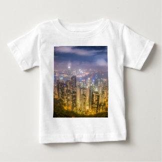 ピークからの眺め、香港 ベビーTシャツ