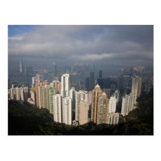 ピークからの香港の眺め ポストカード
