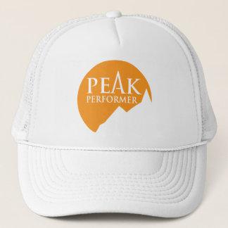 """""""ピーク実行者""""のロゴのオレンジ帽子の帽子 キャップ"""