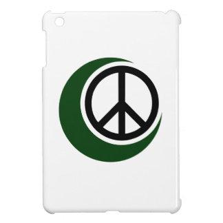 ピースサインとのイスラム教のイスラム教の記号 iPad MINIケース