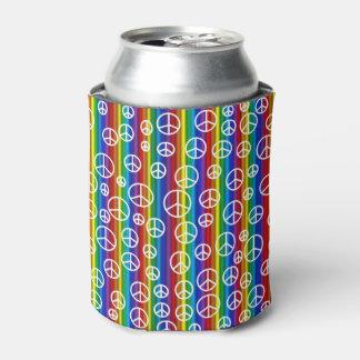 ピースサインの泡 缶クーラー