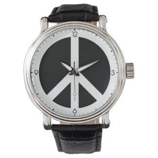 ピースサインの腕時計 腕時計
