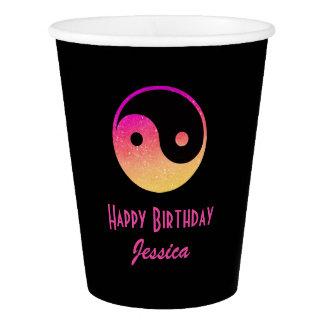 ピースサインの誕生日1 紙コップ