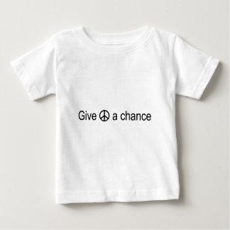 ピースサイン ベビーTシャツ