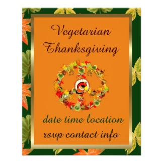 ピースマークの感謝祭トルコ チラシ