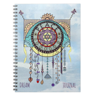 Peace Symbols Kite Dangle Journal