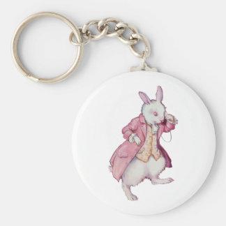 ピーターの白いウサギかCottontail キーホルダー