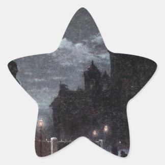 ピーターへの記念碑の眺め上院の正方形のI 星シール