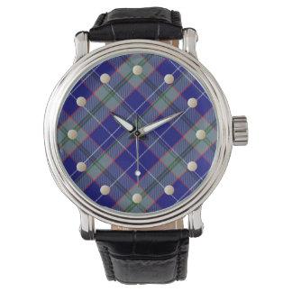 ピーターソンのタータンチェックの腕時計 腕時計