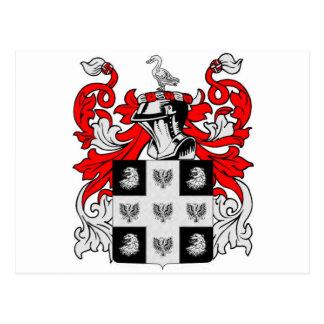 ピーターソンスコットランドの紋章付き外衣 ポストカード