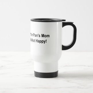 ピーターパンのお母さんは幸せではないです! トラベルマグ