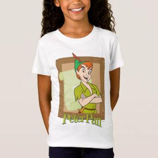 ピーターパン-フレーム Tシャツ