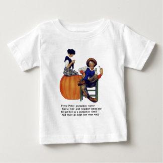 ピーターピーターのカボチャ食べる人 ベビーTシャツ