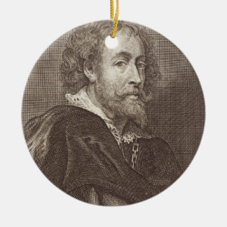 ピーターポールRubensの(1577-1640年の)プレート30のポートレート セラミックオーナメント