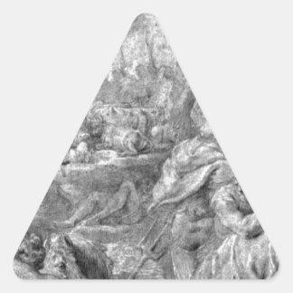 ピーターポールRubens著雄牛の外転 三角形シール