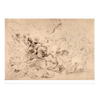 ピーターポールRubens著Sennaheribの損傷 ポストカード