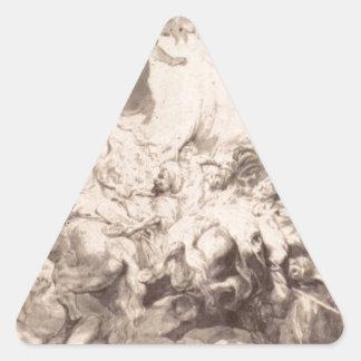 ピーターポールRubens著Sennaheribの損傷 三角形シール