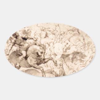 ピーターポールRubens著Sennaheribの損傷 楕円形シール