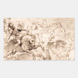 ピーターポールRubens著Sennaheribの損傷 長方形シール