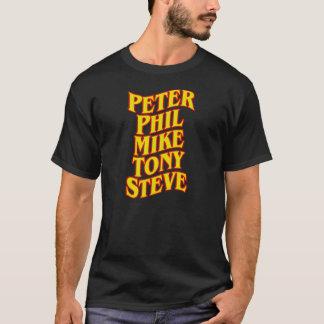 ピーター、フィル、マイク、トニー、及びスティーブのティー Tシャツ