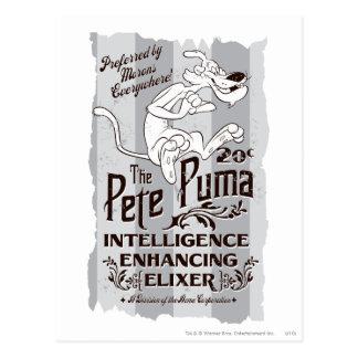 ピートのピューマの知性Elixer ポストカード