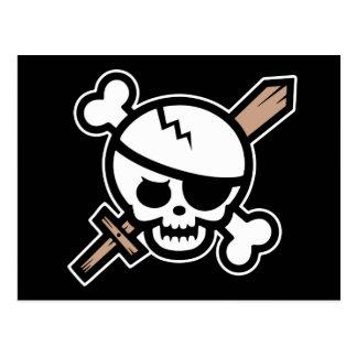 ピート恐怖の海賊 ポストカード