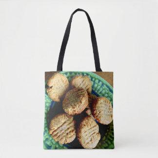 ピーナッツバターのクッキーの市場のバッグ トートバッグ