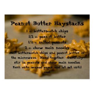 ピーナッツバターの三角波 ポストカード