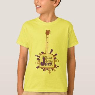 ピーナッツバターの込み合い Tシャツ