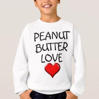 ピーナッツバター愛 スウェットシャツ