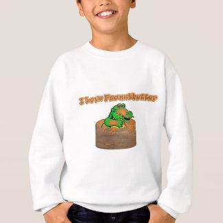 ピーナッツバター スウェットシャツ