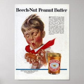 ピーナッツバター ポスター