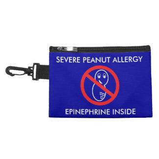 ピーナツアレルギーの緊急時の袋 アクセサリーバッグ