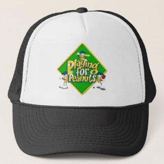 ピーナツトラック運転手の帽子のために遊ぶこと キャップ