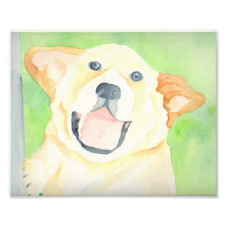 ピーナツビーグル犬の芸術のプリント フォトプリント