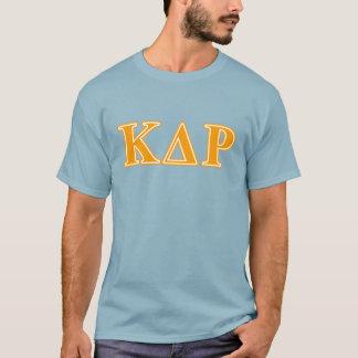 ファイのΚのΘのオレンジの手紙 Tシャツ
